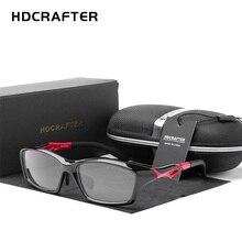 HDCRAFTER męskie jazdy jazda okulary sportowe ramki TR90 na receptę krótkowzroczność oprawki okularowe spektakl