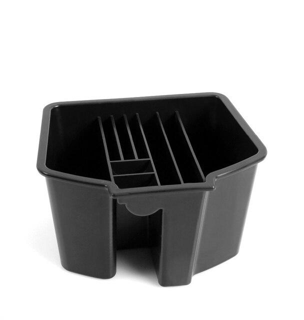 จัดแต่งทรงผม ABS พลาสติกเซ็นทรัลกล่องเก็บถ้วยสำหรับ Honda New Civic 10th 2016 2017 2018 กล่องอุปกรณ์เสริม