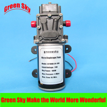 8L/Min. 9m Range 100W high pressure diaphragm pump 24v for car washing,medical,chemical equipment,lawn and garden