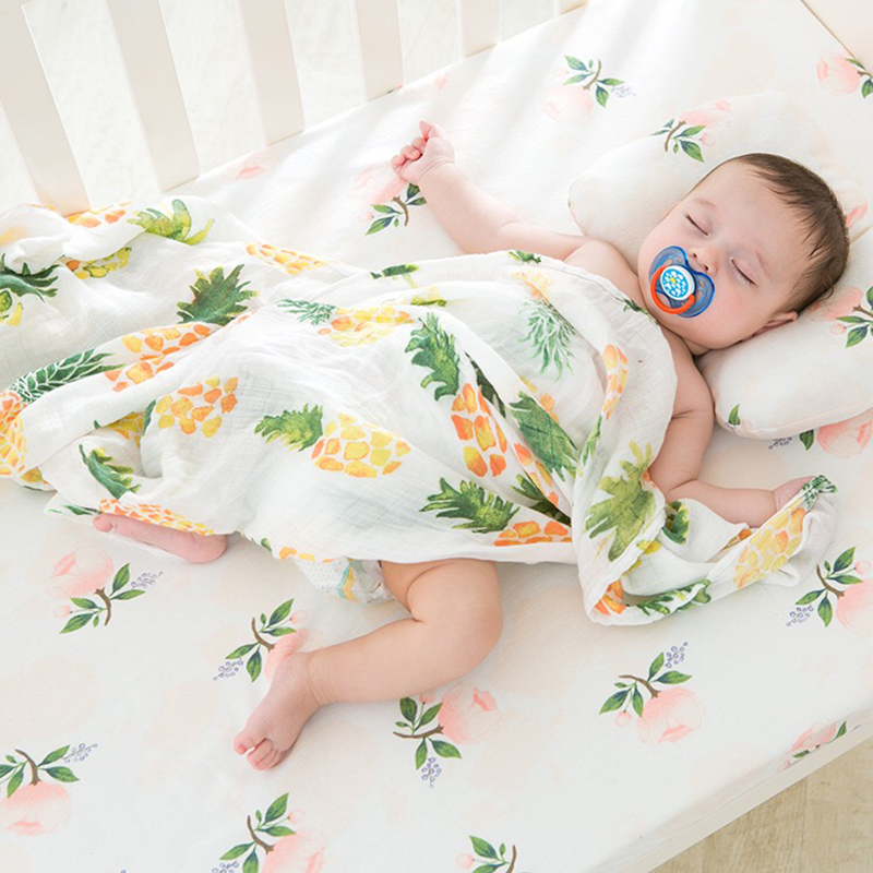 Baby Blanket Muslin Swaddle Wraps Cotton Bamboo Baby Blankets Newborn Bamboo Muslin Blankets 120x120cm Character Kid цена 2017