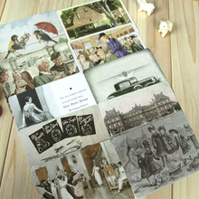 Greeting-Card 10-Envelopes Vintage Postcard Gift Memo Lomo Kids 10pcs/Set