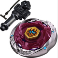 Best Birthday Gift Phantom Orion Metal fusion double Fury remote control Beyblade string launcher black l-drago BB-118 4D Toys l