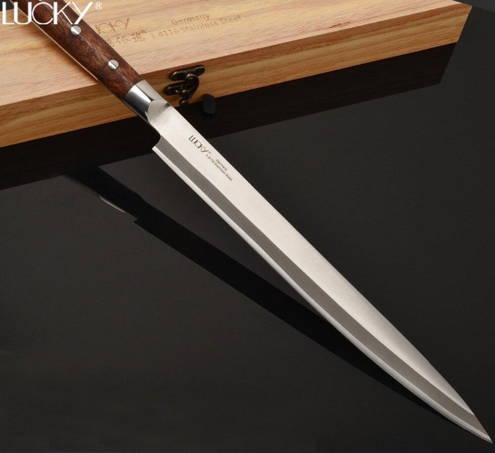 30cm Kitchen Knife Japanese Yanagiba Sushi Sashimi Knife Germany Stainless Steel Cleaver Slicing Fish Filleting Cooking