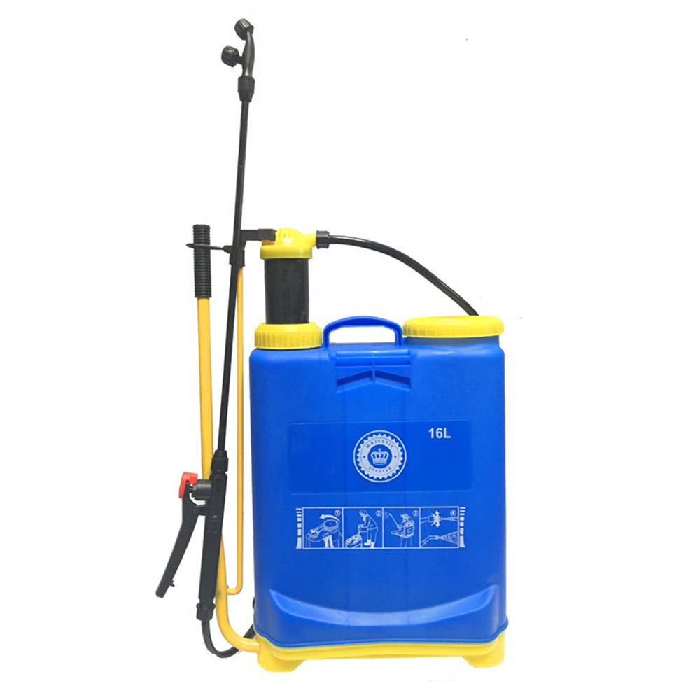 4 Gallon Lawn and Garden Pump Pressure Sprayer for Herbicides Portable Garden Lawn Yard Weed Sprayers Knapsack Hand Piston Pump elizavecca крем филлер для лица с коллагеном milky piggy aqua rising steam filler moisture cream 100 мл