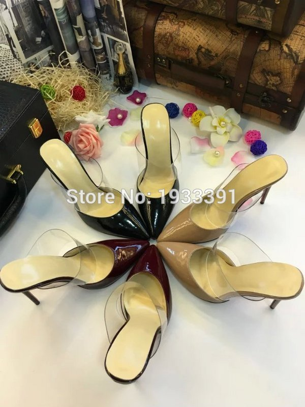 Summer New Style Fashion Design Woman Pumps Shoes High Heels Women's Genuine Leather Pumps Classic Casual Shoes Heels Sandals 1