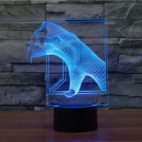 Claw shape Night Light 7 Color Changing table Lamps