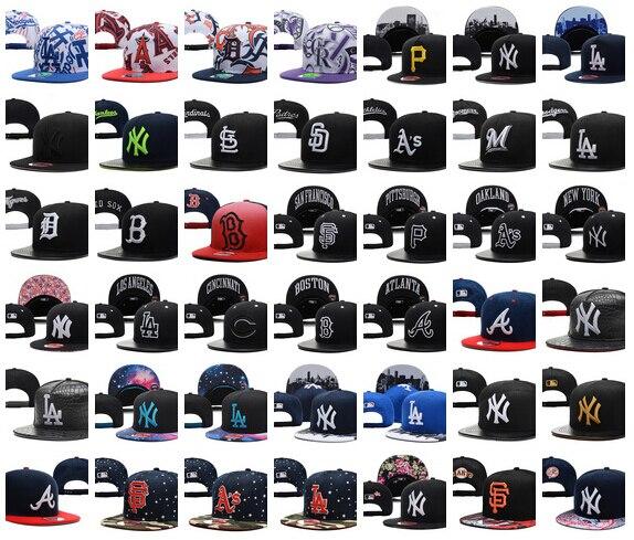 All Team Baseball Snapbacks Top Quality Baseball Cap Womens Mens Hip Hop  Hat Sports Hat Flat Swag Cap Summer Ball Caps Sun Hats-in Baseball Caps  from ... d5a4b9f65d1