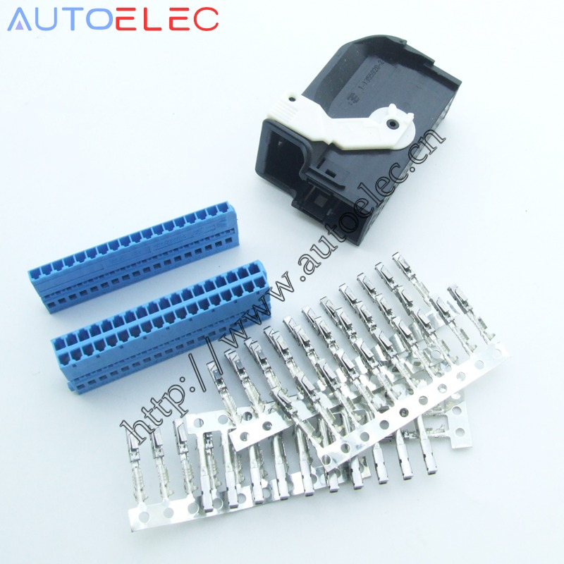 1Kit 4E0972144 Automotive Connector with terminal for Volkswagen Audi BMW Bluetooth plug a6 a4 a8 c6 8k 4f and more!1Kit 4E0972144 Automotive Connector with terminal for Volkswagen Audi BMW Bluetooth plug a6 a4 a8 c6 8k 4f and more!