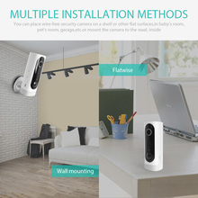 Rechargeable Battery Powered HD Indoor Wireless Security Camera