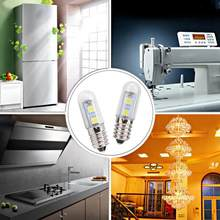 Bulb 110/220V 1.5W E14 LED Light Bulbs Corn for Refrigerator Cooker Hood Sewing Machine(China)