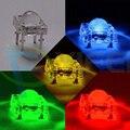 30 шт. 5 мм Пиранья, мощный поток красный/зеленый/синий/белый/желтый светодио дный свет лампы - фото