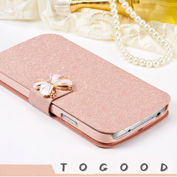 Denim phone case for coolpad catalyst 3623a 3622a Cover wallet case with card slots Silk Fashion Style High Taste Butterfiy Case
