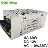 75W 12V 6 3A Small Volume Single 12 Volt Output Switching Power Supply For LED Strip