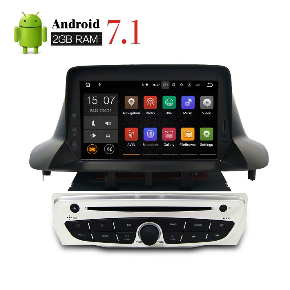 Android 7.1 Car Stereo DVD For Renault Megane 3 Fluence