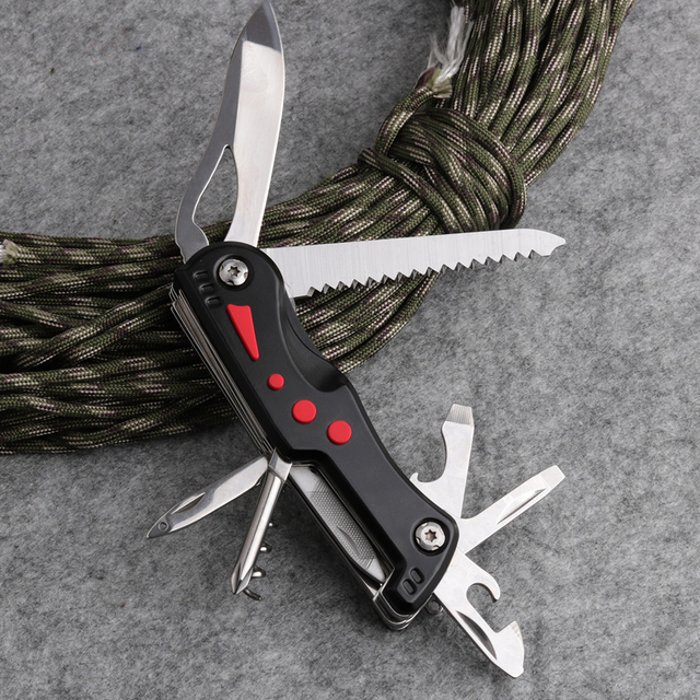 185g Quality Swiss Survival Folding Knife Navajas Canivete Army Outdoor Camping Knife Outdoor Multi Tool Ferramentas
