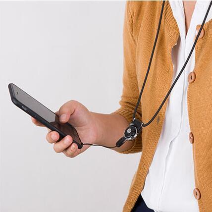 8 Colors Mobile Phone Lanyard Straps Neck + Cellphone Strap Bag Wallet Pendant ID Card Passcard HolderKeys Clasp Running Holder
