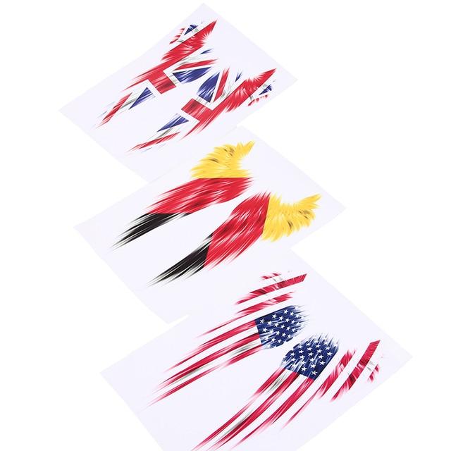 Sf america usa united states german uk gb ireland united kingdom flag wings car
