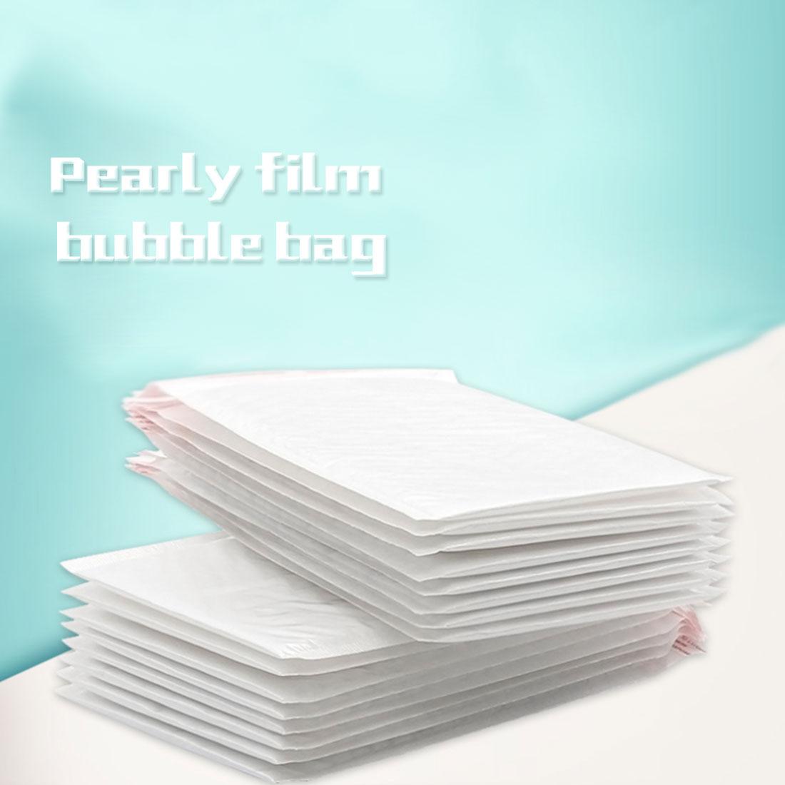 FangNymph 10 PCS 11*11cm Waterproof White Pearl Film Bubble Envelope Mailing Bags Anti-shock Anti-pressure Anti-static