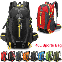40L Outdoor Sports Bag Travel Backpack Waterproof Climbing Backpack Rucksack Camping Hiking Backpack for Men Women Trekking Bag