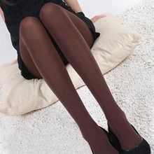 #H30 2020 Classic Sexy Women Opaque Footed Tights Pantyhose Tights Stockings Women Spring Autumn Fashion Tights(China)