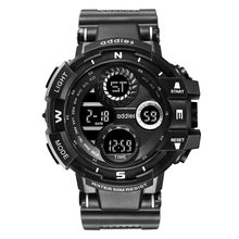Addies watch men digital sports quartz men watch waterproof military soldier mens wristwatch luxury brand led men' watch soprt цена и фото