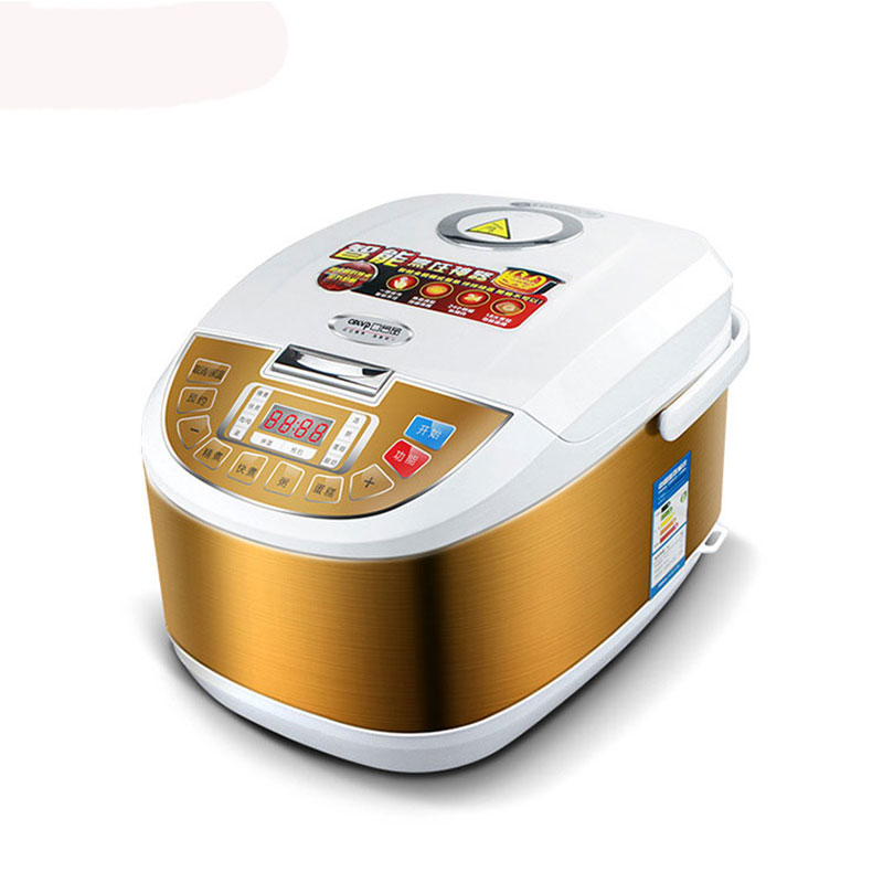 220V PLB50-B Rice Cooker 5L High Capacity Rice Cooker Multifunctional homeleader 7 in 1 multi use pressure cooker stainless instant pressure led pot digital electric multicooker slow rice soup fogao