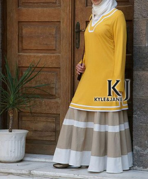 5 colors Islamic Dresses Middle East Women's Tops Dubai Abaya & Muslim Women Dress Free Shipping KJ-TOPS10019
