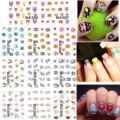 1 Lot = 11 Sheets Water Nail Sticker Transfer Tips Cartoon Qute Owl Manicure Decals Watermark Manicure Pedicure BLE2226-2236