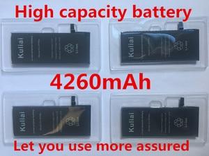 Image 2 - Kuliai ליתיום סוללה עבור Apple iPhone 6P 6 7 6S 7P החלפת סוללות פנימי טלפון Bateria 4260mAh + כלים חינם