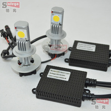 10 sets CREE H7 50 Вт авто СВЕТОДИОДНЫЕ Фары/Авто h7 светодиодные лампы фар h7 привело головного света h7 cree led 50 Вт