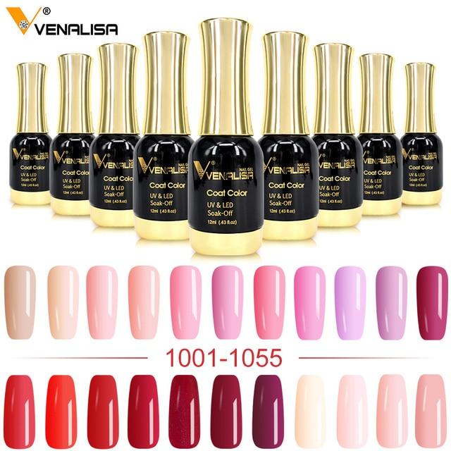 VENALISA Gel Lacquer 12ml 111 Colors CANNI Factory Nail Art Design Super Enamels DIY Soak off UV LED Organic Odorless Gel Polish