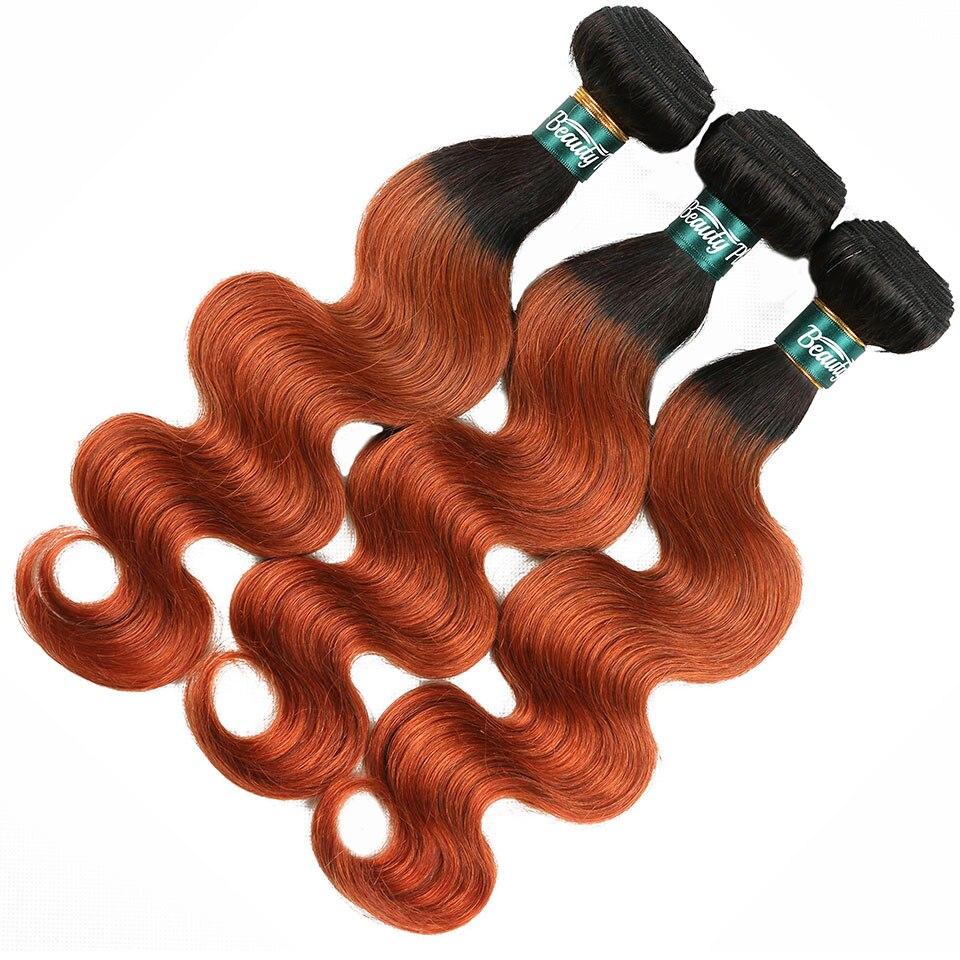 unice hair orange bundles with closure  (18)