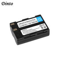 Dinto 1 pc 1500 mAh EN-EL3 EN-EL3A ENEL3 EN EL3 Remplacement Batterie pour Appareil Photo Numérique Nikon D100 D100SLR D50 D70 D70S
