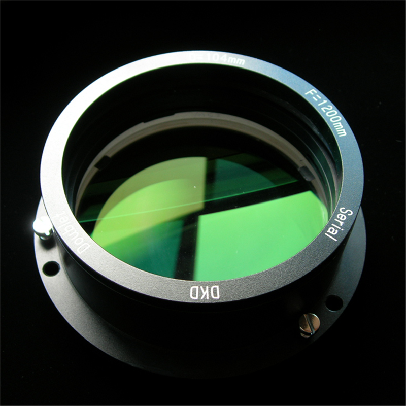 D104F600/1000/1200 Double Separation Achromatic Objective Lens Group with AR Multi-coated DIY Refracting Astronomical Telescope цены