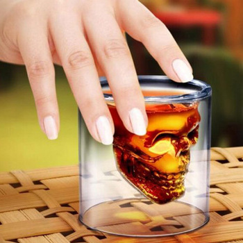 Creative Transparent Skull Cup 1