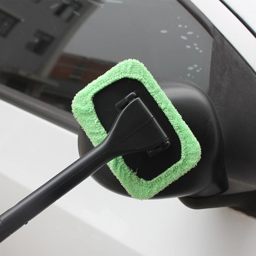 Автомобиль-Стайлинг лобовое стекло легко очиститель-чистый труднодоступных Windows на вашем автомобиле, главная моющийся td815 челнока