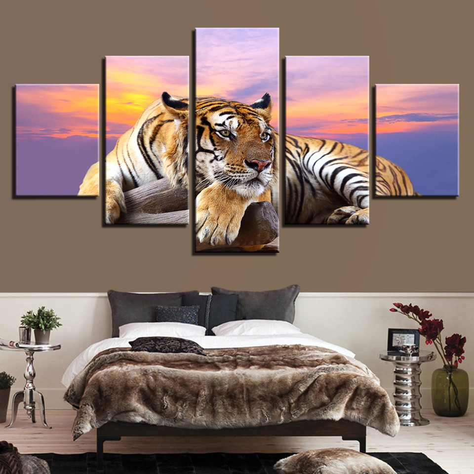 Canvas Painting HD Prints Home Decor 5 Pieces Wall Art