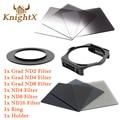 KnightX nd filter set For Cokin P For nikon canon eos d3200 D7100 D5200 D3300 600d DSLR 650d 70d d7200 lenses d90 6D 52 58 67 82
