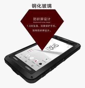 Image 5 - Für Sony Xperia Z5 Premium Liebe Mei Stoßfest Metall Aluminium Fall abdeckung Für Xperia Z5 Kompakte Drei proofing liebe mei telefon