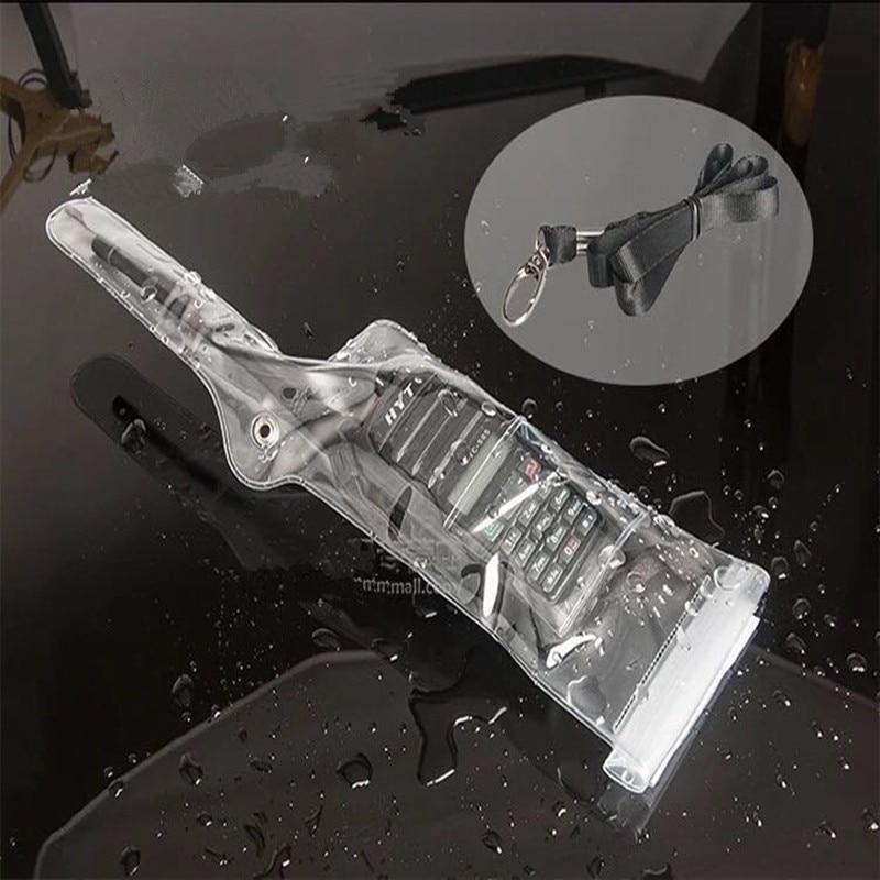Waterproof Bag Case For Kenwood Baofeng UV5R 888S Wouxun Hytera For Motorola For ICOM Etc Walkie Talie Left Hand Antenna