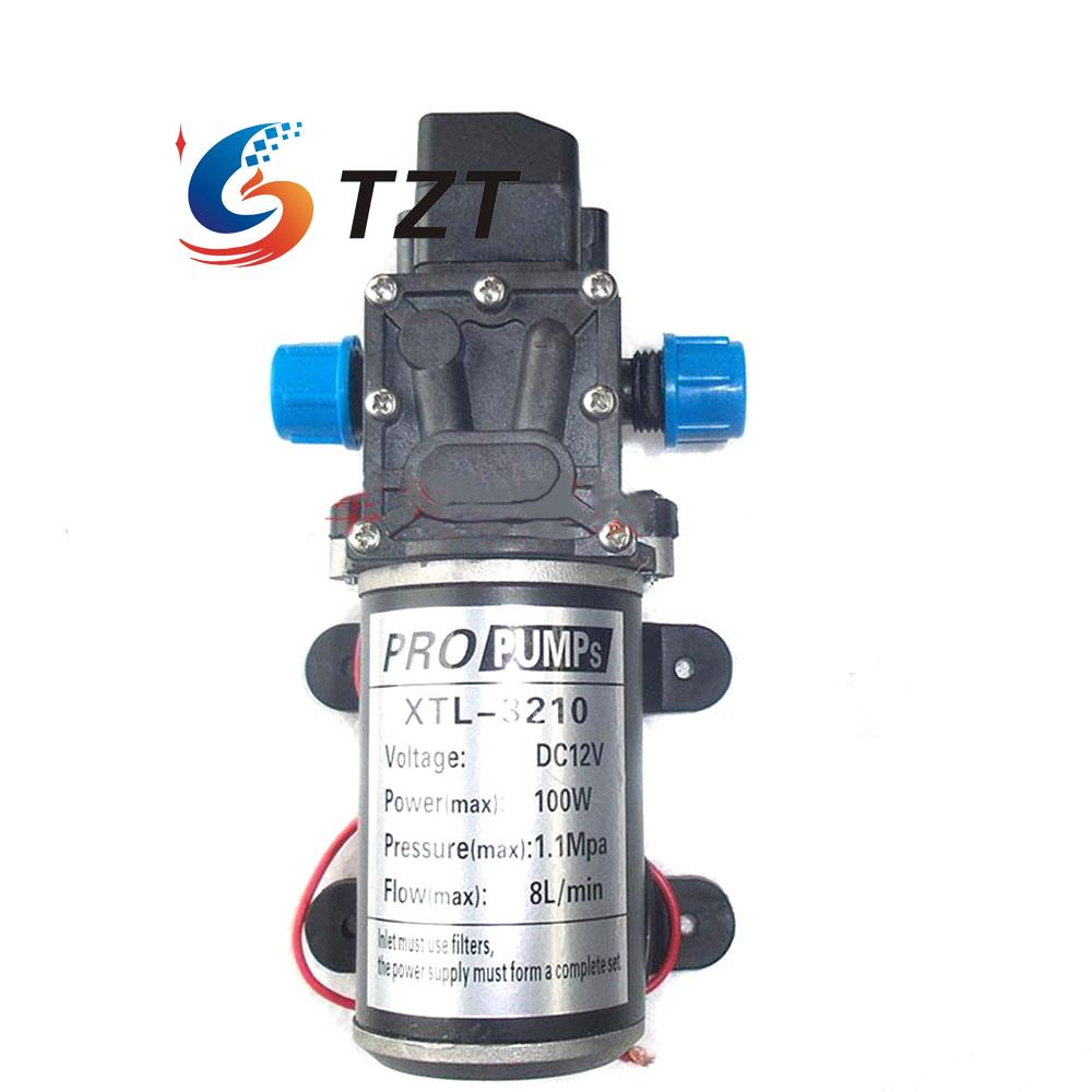 High Pressure Diaphragm Self Priming Water Pump 12V DC 100W 160Psi 8Lpm for Wash 6162 63 1015 sa6d170e 6d170 engine water pump for komatsu