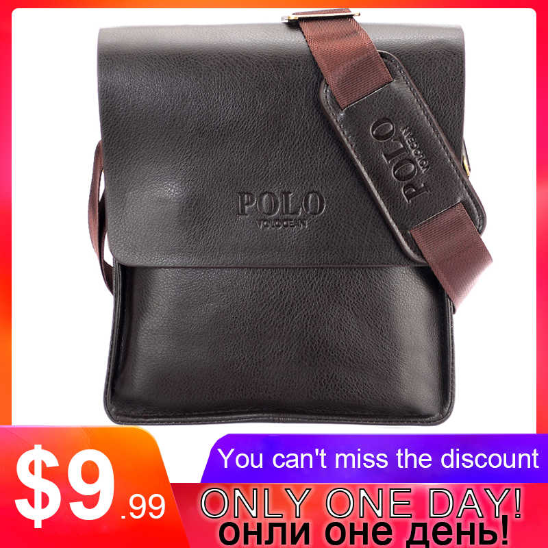 234374be5d Casual Business Leather Mens Messenger Bag Hot Sell Famous Brand Design Leather  Men Bag Vintage Fashion