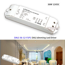LTECH DALI Led Dimming Driver;DALI-36-12-F1P1;AC100-240V input;DC 12V/3A/36W output;DALI/PUSH DIM  CV led power