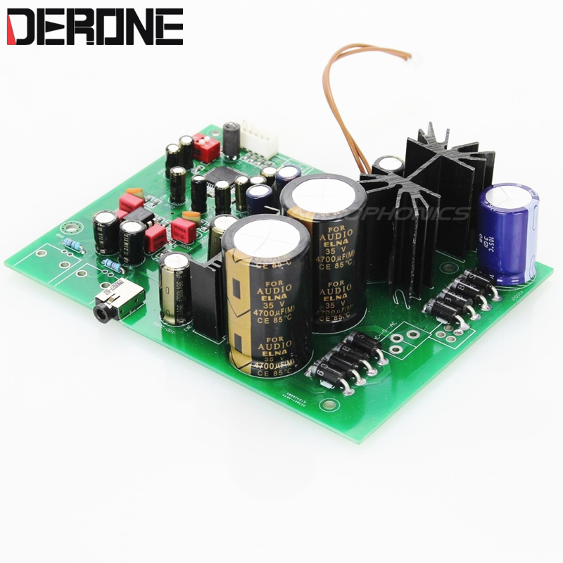 AK4495SEQ DAC Board I2S 32bit 384khz Audio Professional output to headphone amplifier free shipping cozoy rei mini dac headphone amplifier dsd256 32bit 384khz