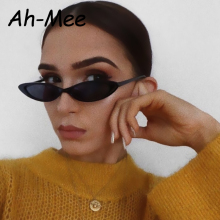 Vintage Small Cute Sexy Ladies Cat Eye Sunglasses Women 2019 Retro Cheap Narrow Brand Designer Sun Glasses Female UV400