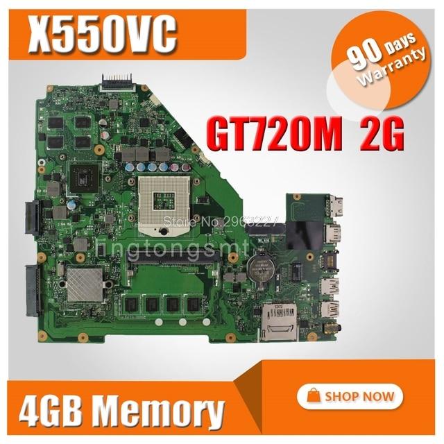 X550vc Motherboard Gt720 2g Ram 4g Memory For Asus R510v X550v