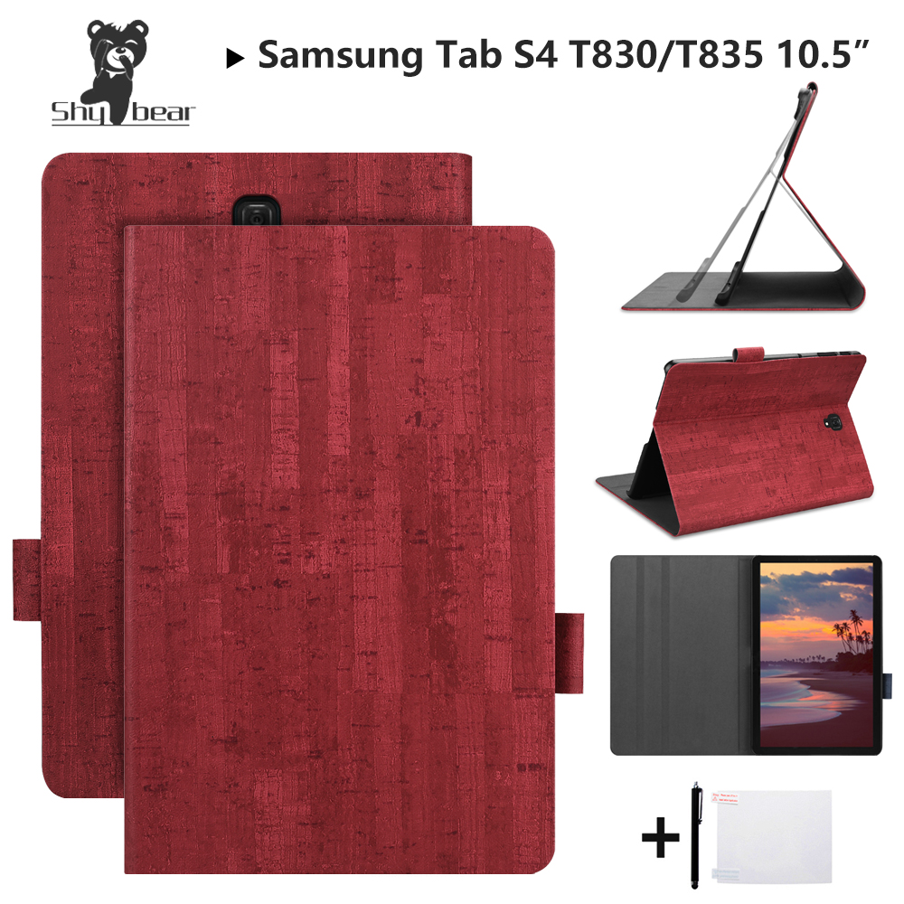 Shy Bear Luxury Case for Samsung Galaxy Tab S4 10.5T830 SM-T835 T835 10.5 2018 Stand Auto-wake/sleep Cover Case+giftShy Bear Luxury Case for Samsung Galaxy Tab S4 10.5T830 SM-T835 T835 10.5 2018 Stand Auto-wake/sleep Cover Case+gift