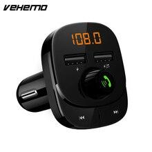 Fm-передатчик AUX модулятор Bluetooth 5,0 Громкая связь Радио Аудио MP3 плеер Автомобильный комплект с двумя USB 3.1A быстрая зарядка автомобильное зарядное устройство