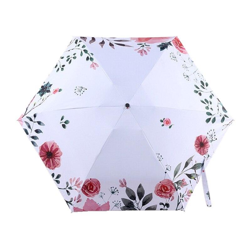 Love Heart Fully Automatic Rain Umbrella For Women Portable Black Coating Umbrella Woody Handle,Black