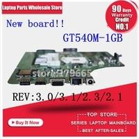 K53SV 8 memoria GT540M motherboard K53SV k53S X53SV A53S Mainboard N12P-GS-A1 1 GB REV 3,1 2,1 3,0 2,3 placa madre del ordenador portátil
